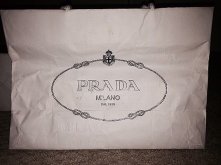Prada Tote in White