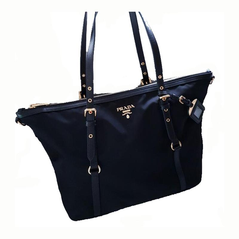38d55937218c 1234567 5ffc7 938d9  free shipping prada women handbags bags shopping tote  in navy blue 1a2f3 ac23e