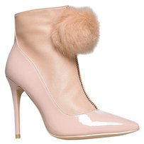 Privileged Closed-toe High-heel Quedablush-8 Beige Boots