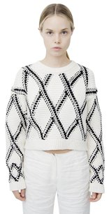 Proenza Schouler Black White Sweater