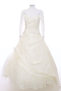 Pronovias Sweetheart Neck A-line Wedding Gown Side Pick Up And Tulle Wedding Dress