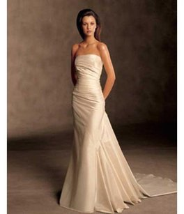 Pronovias Size 20/22 Babel Silk Duppioni Wedding Dress