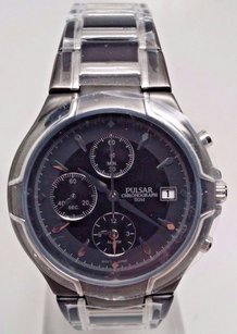 Pulsar Pulsar Alarm Chronograph Pf3547 - Quartz Pulsar Watch Mens