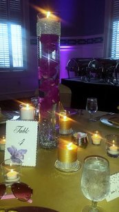 Beautiful Purple Orchid Themed Wedding
