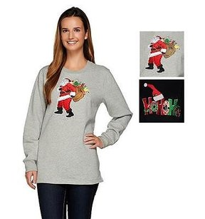 Quacker Factory Holiday Sweater