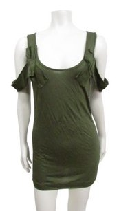 Rachel Roy Rachel Forest Draped Top Green