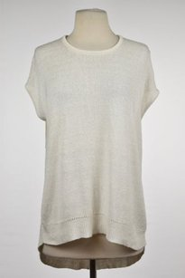 Rachel Roy Rachel Womens Crew Neck Short Sleeve Shirt Sweater