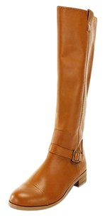 Rachel Roy Womens Leather brown Boots