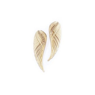 Rachel Roy Rachel Roy Gold Tone Wing Earrings