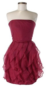 Rachel Zoe Silk Strapless Flowy Dress