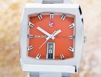 Rado Rado Ncc 505 Day Date Stainless Steel Men Automatic Vintage Watch 1970s Dx3