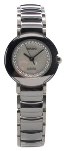 Rado Stainless Steel Rado Jubile Diastar Diamond Dial 26mm Ladies Watch