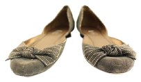 Rafe Womens Pewter Gray Flats