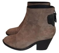 Rag & Bone Suede Black Brown Boots