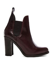Rag & Bone Stanton Maroon Dark Red Boots