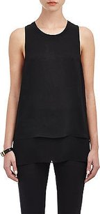 Rag & Bone Daria Silk Top Black