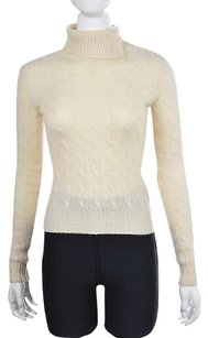 Ralph Lauren Black Label Womens Turtleneck Cashmere Sweater