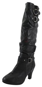 Rampage Good Womens Man Made Nbw black Boots