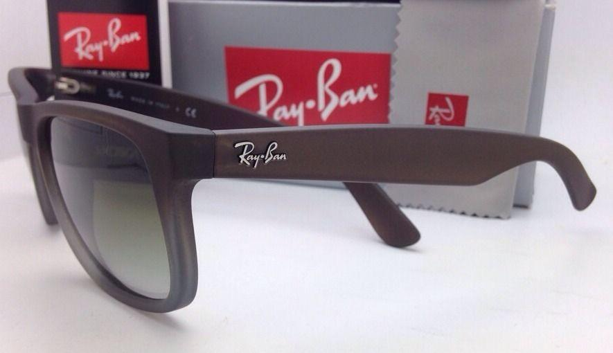 6698a45ca92e italy ray ban sunglasses justin rb 4165 854 7z 51 rubber brown. 1234567  f4b92 96908