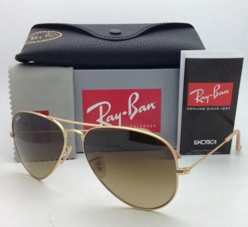f276981122d ... promo code for ray ban rb 3025 large metal 112 85 matte gold w brown  gradient