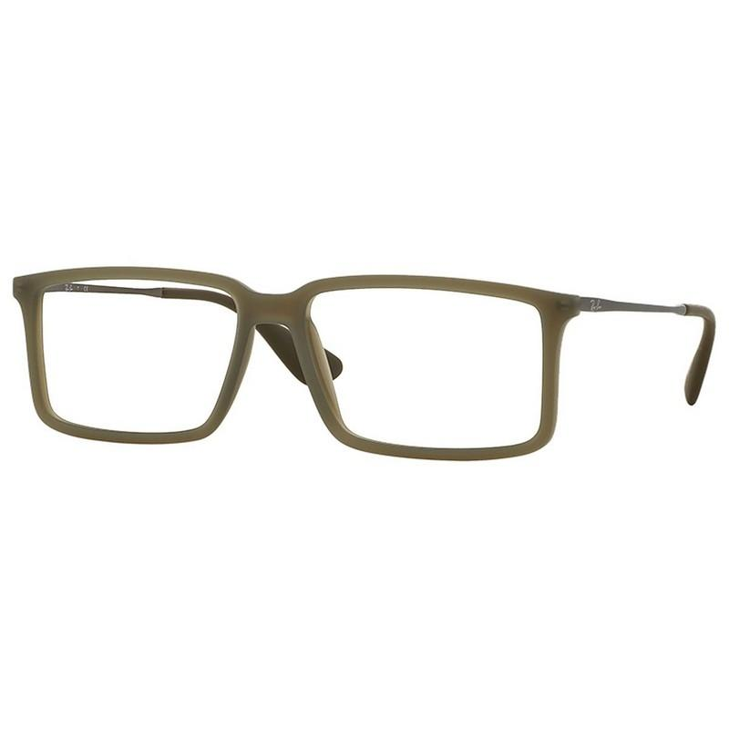 1428607252e ... new arrivals ray ban rx7043 5466 youngster mens green frame clear lens  eyeglasses 520f2 bf459