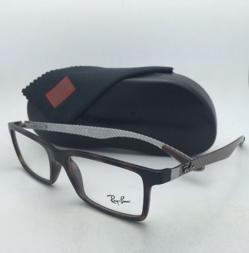 364eccf3bbc ... get ray ban tech series rb 8901 5261 55 17 havana frame w carbon fiber  new