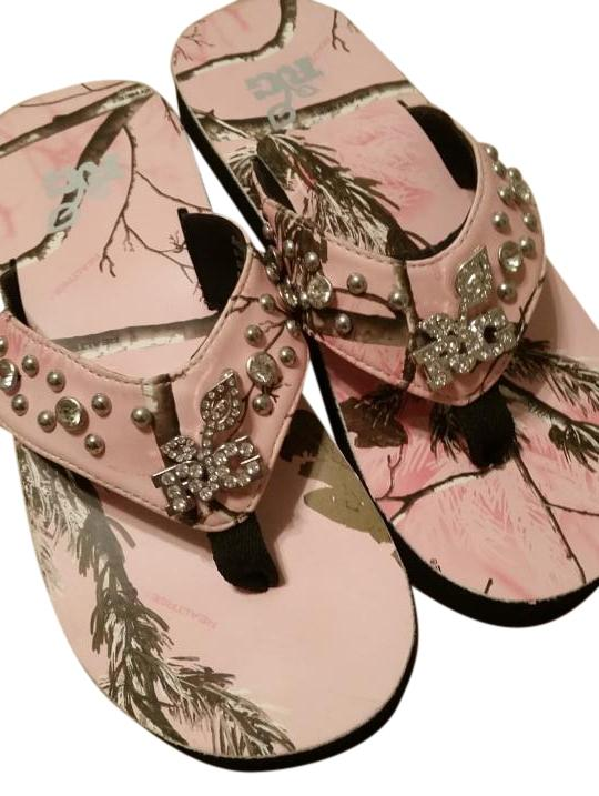 realtree camo flip flops pink sandals sandals on sale