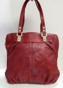 Rebecca Minkoff Deep Wine Tote in Red
