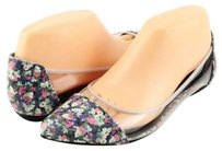 Rebecca Minkoff Isadora Multi Floral Clear Womens Designer Pointed Multi-Color Flats