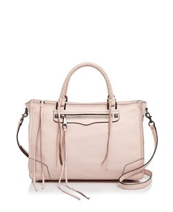 Rebecca Minkoff Leather Regan New With Tags Satchel in Pale Blush