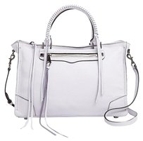 Rebecca Minkoff Leather Satchel in Lilac