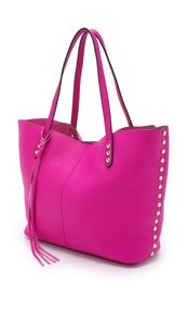 Rebecca Minkoff Leather Soft Pouch Tote in Pink