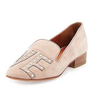 Rebecca Minkoff Womens Love Pattington Blush Flats