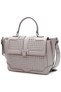 Rebecca Minkoff Leather Satchel in Gray