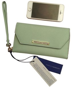 Rebecca Minkoff Wristlet in Lime Green