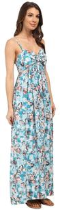 Blue Maxi Dress by Rebecca Taylor Aloha Maxi Cami