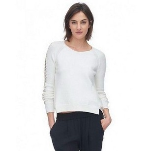 Rebecca Taylor Sea Salt Laced Sweater