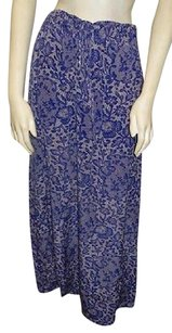 Rebecca Taylor Lace Maxi Skirt Blue