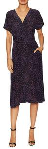 Rebecca Taylor short dress Navy Midi Silk on Tradesy