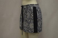 Rebecca Taylor Silk Shorts Navy Blue