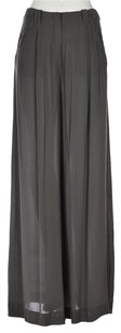 Reiss Womens Dress Metallic Wide Leg Trousers Pants
