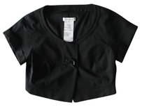 Ren Lezard Lezard Cropped Black Jacket