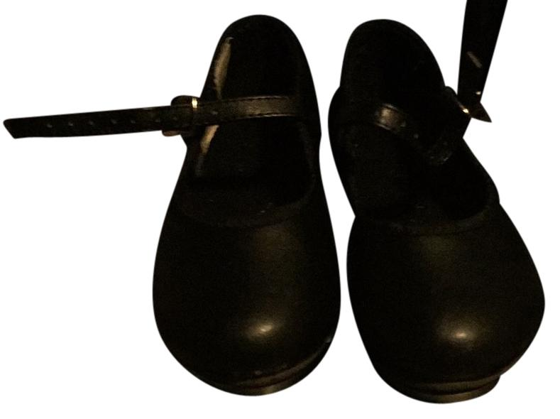 Revolution Dancewear Black Tap Shoes Size 11.5CHILD