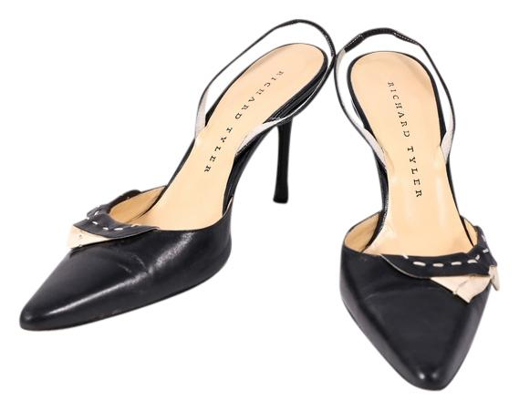 Richard Tyler Suede Pointed-Toe Pumps factory outlet cheap online 5KKZ1bT2F