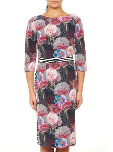 Robert Graham Faux Wrap Wrap Dress