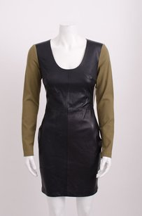 Robert Rodriguez Olive Green Dress