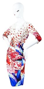 Roberto Cavalli Multicolor Dress