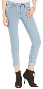 Rock & Republic Revival Straight Leg Skinny Jeans-Distressed