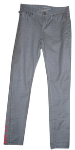 Rock & Republic Skinny Pants grey silver with subtle sparkle