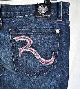 Rock & Republic Prism Straight Leg Jeans